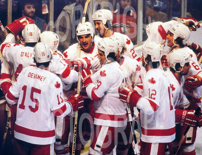 Team Canada 1980 Olympics. Photo copyright F. Scott Grant
