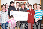 PRESENTATION: Members of  the late Ned Breen ( Asdee ) family presenting a cheque for 2,450 in memory of him to the new Pallative Care Unit at Kerry General Hospital with funds raised from Pub Quiz nights in Asdee. L:r Eileen, Helen and Breda Breen, Mary Nagle, Joan(E) Breen ( Ned's wife ), Mari O'Connell, Margie Lynch ( General Manager ), Mary Shanahan, Liz Reidy and little Katie Mullen.   Copyright Kerry's Eye 2008
