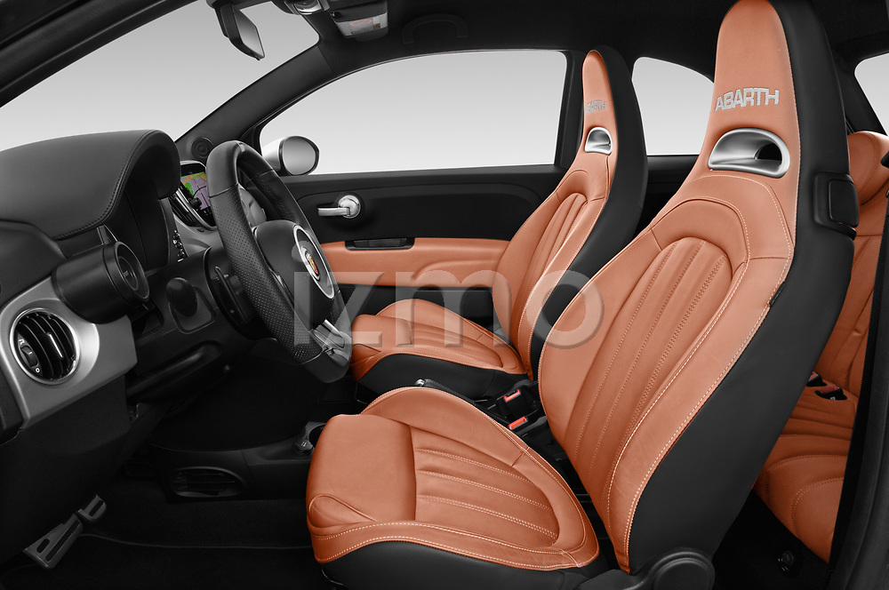 Front seat view of a 2018 Abarth 595 Turismo 3 Door Hatchback front seat car photos