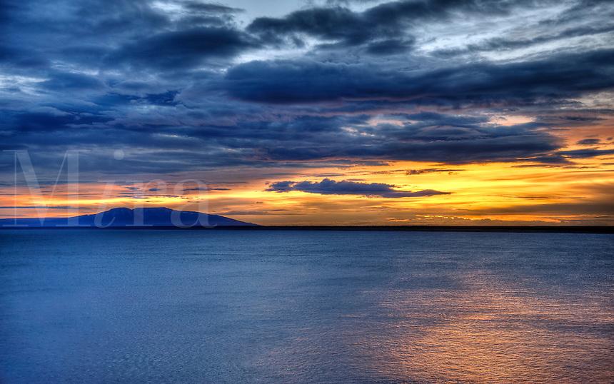 Sunset, Alaska, USA