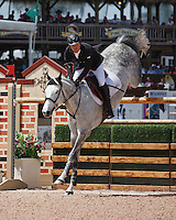 Uceko ridden by Kent Farrington,  USEF trials#2 Wellington Florida. 3-22-2012