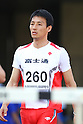 Tasuku Tanonaka, .MAY 19, 2012 - Athletics : .The 54th East Japan Industrial Athletics Championship .Men's 110mH .at Kumagaya Sports Culture Park Athletics Stadium, Saitama, Japan. .(Photo by YUTAKA/AFLO SPORT) [1040]