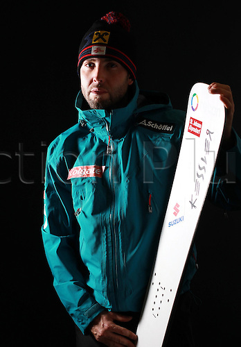 16.10.2010  Winter sports OSV Einkleidung Innsbruck Austria. Snowboarding OSV Austrian Ski Federation. Einkleidung men Photo call Picture shows Andreas Prommegger AUT