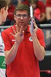 07.04.2019,  Lueneburg GER, VBL, Playoff-Viertelfinale, SVG Lueneburg vs United Volleys Frankfurt im Bild Trainer Stefan Huebner (Hübner Lueneburg) Foto © nordphoto / Witke
