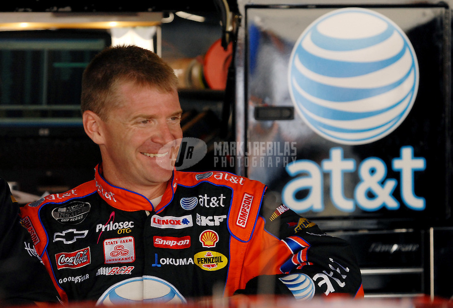 Jun 1, 2007; Dover, DE, USA; Nascar Nextel Cup Series driver Jeff Burton (31) during practice for the Autism Speaks 400 at Dover International Speedway. Mandatory Credit: Mark J. Rebilas-US PRESSWIRE Copyright © 2007 Mark J. Rebilas..
