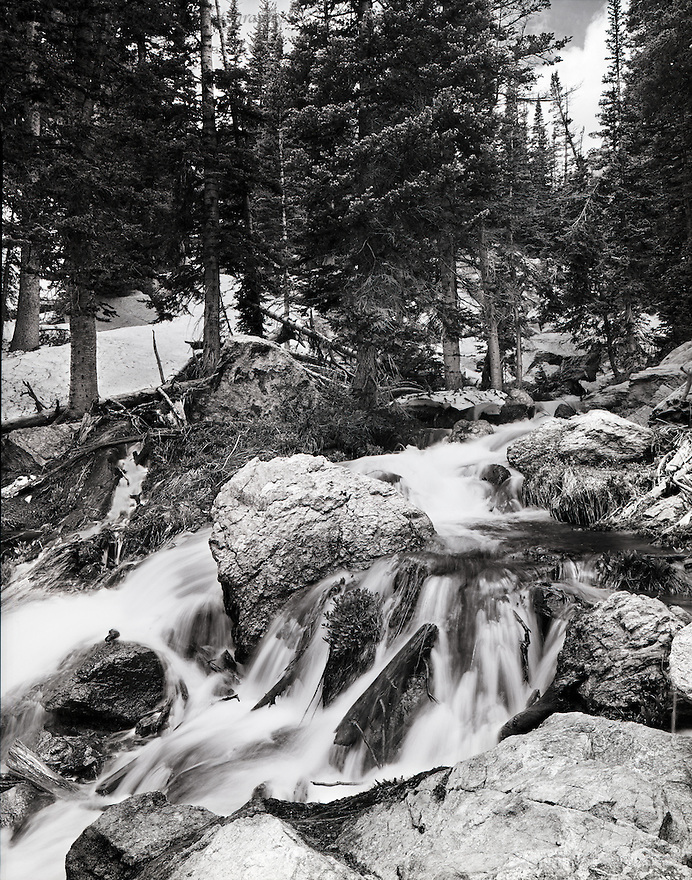 """Cascades From Dream Lake""<br />