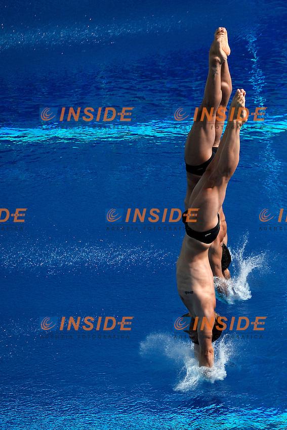 Maicol Verzotto, Francesco Dell'Uomo Italia <br /> Diving Men's 10m Synchro Platform - Tuffi Piattaforma 10m sincronizzato Uomini <br /> Barcellona 21/7/2013 Piscina Municipal <br /> Barcelona 2013 15 Fina World Championships Aquatics <br /> Foto Andrea Staccioli Insidefoto