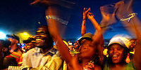 """Once a year some 30 000 People  meet in Mamelodi, west of Pretoria, for a """"South African Heroes Concert"""". Mamelodi means Mama of Melodis and that Township is the cradle of South African Music, SA 2007"""