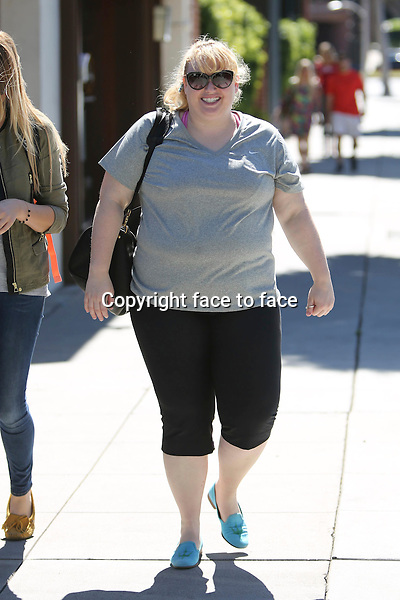 Rebel Wilson came out of Jiu jitsu practice in Beverly Hills, 08.03.2014.<br />
