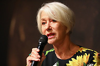 Dame Helen Mirren during Press Conference at the 57th Monte-Carlo TV Festival. # 57EME FESTIVAL DE TELEVISION DE MONTE CARLO - CONFERENCE DE PRESSE HELEN MIRREN