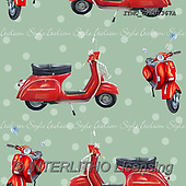 Marcello, GIFT WRAPS, GESCHENKPAPIER, PAPEL DE REGALO, paintings+++++,ITMCGPED1367A,#GP#, EVERYDAY ,vespa,scooters