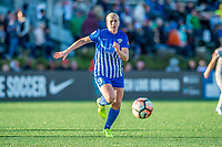 Boston, MA - Sunday May 07, 2017: Natasha Dowie during a regular season National Women's Soccer League (NWSL) match between the Boston Breakers and the North Carolina Courage at Jordan Field.