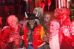 Heidi Klum dress at Werewolf and performs Michael Jackson's Thriller, at Heidi Klum's 18th Annual Halloween Party presented by Party City and SVEDKA Vodka at Magic Hour Rooftop Bar & Lounge at Moxy Times Square, on October 31, 2017.