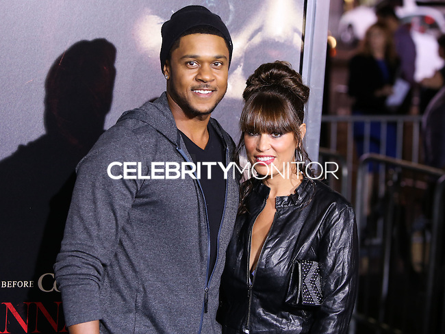 HOLLYWOOD, LOS ANGELES, CA, USA - SEPTEMBER 29: Pooch Hall arrive at the Los Angeles Premiere Of New Line Cinema's 'Annabelle' held at the TCL Chinese Theatre on September 29, 2014 in Hollywood, Los Angeles, California, United States. (Photo by Xavier Collin/Celebrity Monitor)