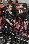 NON EXCLUSIVE PICTURE: PAUL TREADWAY / MATRIXPICTURES.CO.UK<br /> PLEASE CREDIT ALL USES<br /> <br /> WORLD RIGHTS<br /> <br /> Actress Monica Dolan attending the UK premiere of 'Eye In The Sky', at London's Curzon Mayfair.<br /> <br /> APRIL 11th 2016<br /> <br /> REF: PTY 16977