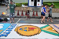 RIO DE JANEIRO,RJ,30.05.2013: CORPOS CHRISTI RIO DE JANEIRO -  Procissão de Corpus Christi no centro da cidade do Rio de Janeiro (RJ), nesta quinta-feira (30) SANDROVOX/BRAZILPHOTOPRESS
