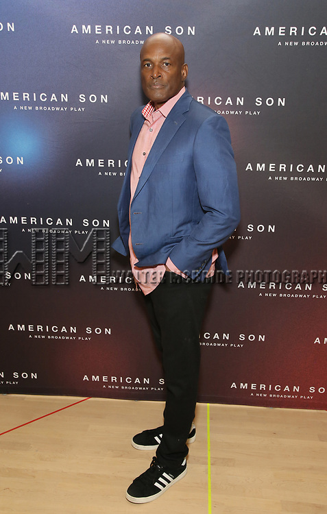 """Kenny Leon attends the Cast photo call for the New Broadway Play """"American Son"""" on September 14, 2018 at the New 42nd Street Studios in New York City."""