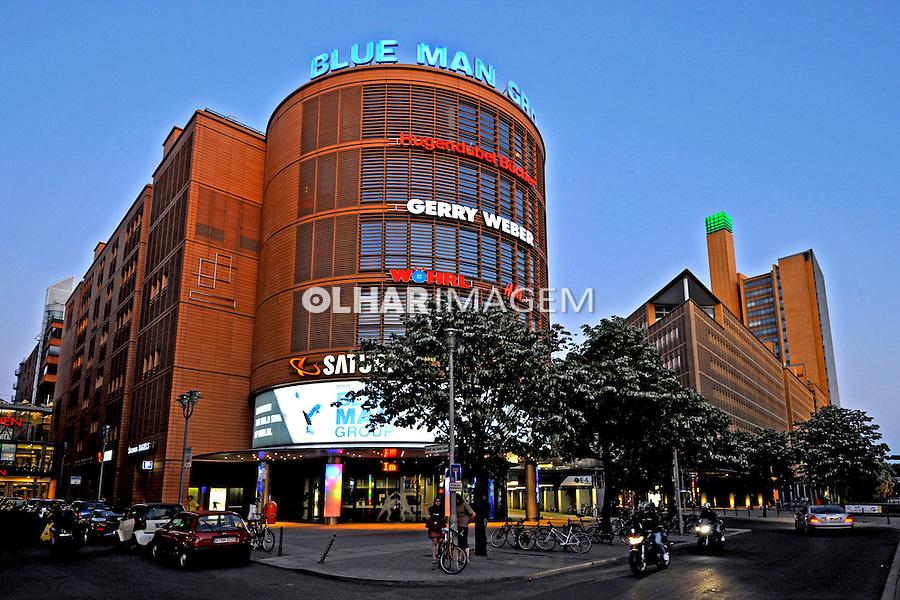 Edificios na cidade de Berlin. Alemanha. 2011. Foto de Juca Martins.
