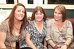 Ingrid Byrne, Janet Knight and Deirdre Stewart in Barroco...Picture Jenny Matthews/Newsfile.ie