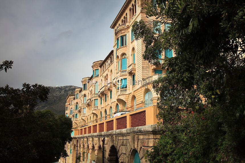 France, Alpes-Maritimes (06), Beausoleil, le Riviera Palace.(property release sauf publicité) // France, Alpes Maritimes, Beausoleil, the Riviera Palace