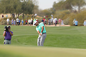January 31st 2019, Scotsdale, Arizona, USA; Stephan Jaeger hits an appoach shot on the 9th hole during the first round of the Waste Management Phoenix Open