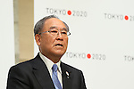 Fujio Mitarai, March 26, 2014 : a press conference of Tokyo Organizing Committee of the Olympic and Paralympic Games <br /> in Tokyo, Japan. (Photo by Yohei Osada/AFLO SPORT)