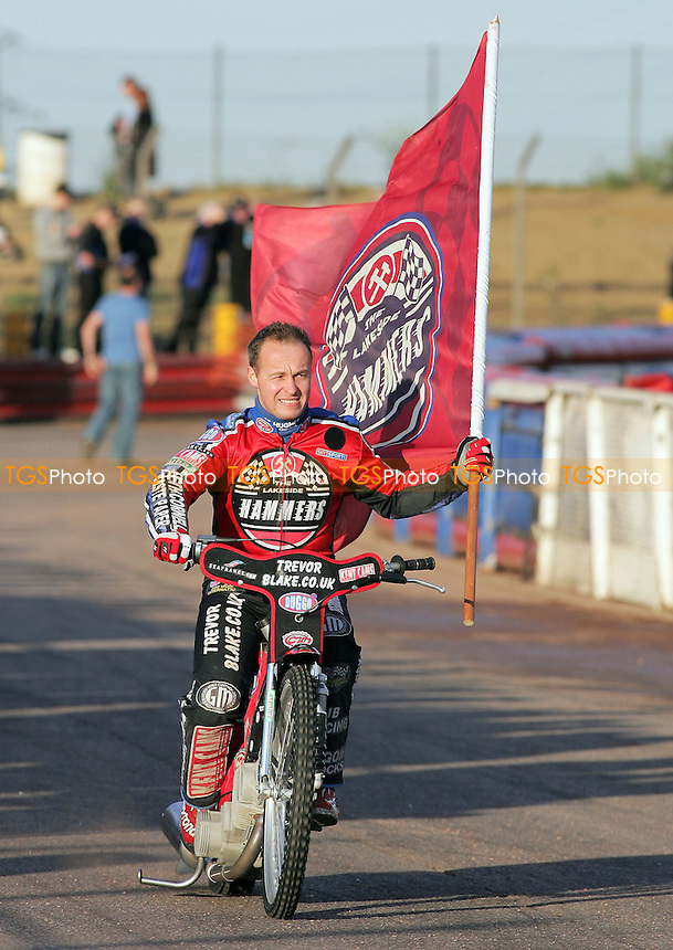 Paul Hurry of Lakeside - Lakeside Hammers vs Eastbourne Eagles - Elite League Speedway at Arena Essex - 15/06/07 - MANDATORY CREDIT: Gavin Ellis/TGSPHOTO - SELF-BILLING APPLIES WHERE APPROPRIATE. NO UNPAID USE -  Tel: 0845 0946026