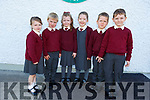 New recruits Junior infants in Knockaderry NS Farranfore.<br /> Front l to r: Sarah Rose, Andrew and Anna Kate Daly, Claire Gleeson, Matthew Smith and Tommy Jones