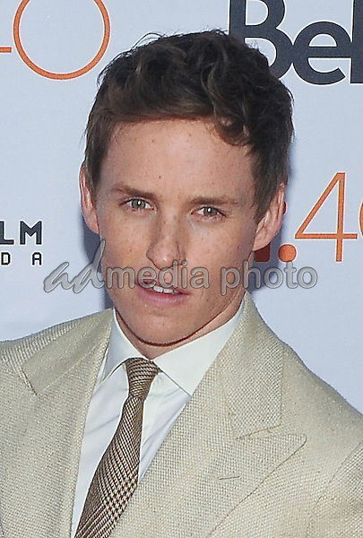 "12 September 2015 - Toronto, Ontario, Canada - Eddie Redmayne. ""The Danish Girl"" Premiere during the 2015 Toronto International Film Festival held at  Princess of Wales Theatre. Photo Credit: Brent Perniac/AdMedia"