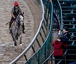 September 2, 2020: Enforceable exercises as horses prepare for the 2020 Kentucky Derby and Kentucky Oaks at Churchill Downs in Louisville, Kentucky. The race is being run without fans due to the coronavirus pandemic that has gripped the world and nation for much of the year. John Voorhees/Eclipse Sportswire/CSM