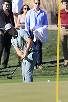 Alex Noren (SWE) putts on the 9th green during Saturday's Round 3 of the Waste Management Phoenix Open 2018 held on the TPC Scottsdale Stadium Course, Scottsdale, Arizona, USA. 3rd February 2018.<br /> Picture: Eoin Clarke | Golffile<br /> <br /> <br /> All photos usage must carry mandatory copyright credit (&copy; Golffile | Eoin Clarke)