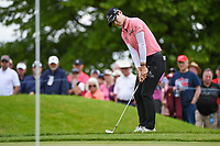 Sung Hyun Park (KOR) chips on to 1 during the round 3 of the KPMG Women's PGA Championship, Hazeltine National, Chaska, Minnesota, USA. 6/22/2019.<br /> Picture: Golffile | Ken Murray<br /> <br /> <br /> All photo usage must carry mandatory copyright credit (© Golffile | Ken Murray)