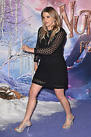 Anna Williamson<br /> 'The Nutcracker and the Four Realms' European Film Premiere at Westfield, London, England  on November 01,  2018.<br /> CAP/PL<br /> &copy;Phil Loftus/Capital Pictures
