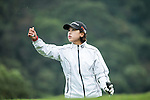 Hyeon Seo Kang of South Korea tees off during Round 1 of the World Ladies Championship 2016 on 10 March 2016 at Mission Hills Olazabal Golf Course in Dongguan, China. Photo by Victor Fraile / Power Sport Images