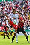 13.08.2017, Ostalb Arena, Aalen, GER, DFB Pokal, SF Dorfmerkingen vs RB Leipzig, im Bild Yussuf Poulsen (Leipzig #9)<br /> <br /> Foto &copy; nordphoto / Hafner