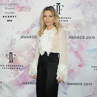 05 June 2019 - New York, New York - Michelle Pfeiffer. 2019 Fragrance Foundation Awards held at the David H. Koch Theater at Lincoln Center. Photo Credit: LJ Fotos/AdMedia