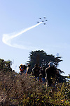 Blue Angels Fly Over Spectators