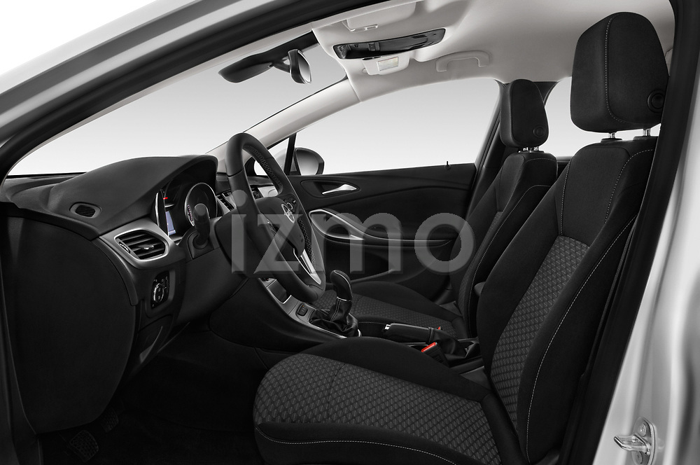 Front seat view of 2017 Opel Astra Sports Tourer Edition 5 Door Wagon front seat car photos