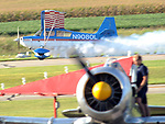 Friends of Hartzell Air Show at Piqua Hartzell Airport on September 5, 2017 as Hartzell Propeller celebrates their 100th anniversary