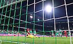 Remote, Hintertor, Hintertorkamera: Tor 1:4 Kerem Demirbay (Leverkusen)gegen Torwart Jiri Pavlenka (Bremen).<br /><br />Sport: Fussball: 1. Bundesliga: Saison 19/20: 26. Spieltag: SV Werder Bremen - Bayer 04 Leverkusen, 18.05.2020<br /><br />Foto: Marvin Ibo GŸngšr/GES /Pool / via gumzmedia / nordphoto