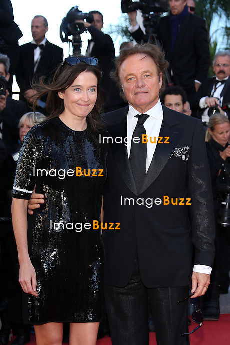 CPE/Naomi Kern and Otto Kern attend the 'La Venus A La Fourrure' premiere during The 66th Annual Cannes Film Festival at the Palais des Festivals on May 25, 2013 in Cannes, France.