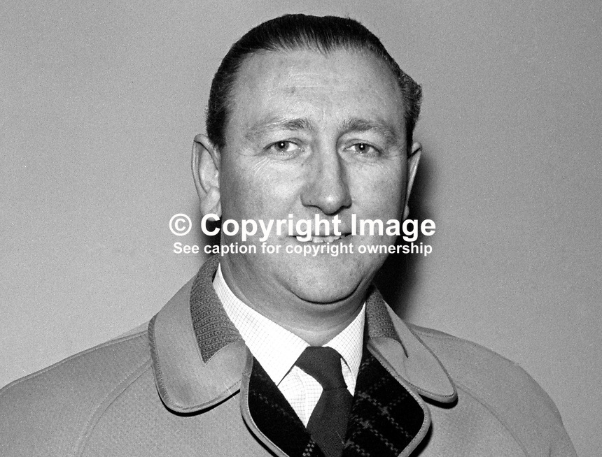 Harry Wallace, secretary, Linfield FC, Belfast, N Ireland, December 1976, 197612000070<br /> <br /> Copyright Image from Victor Patterson, 54 Dorchester Park, Belfast, UK, BT9 6RJ<br /> <br /> Tel: +44 28 9066 1296<br /> Mob: +44 7802 353836<br /> Voicemail +44 20 8816 7153<br /> Email: victorpatterson@me.com<br /> Email: victorpatterson@gmail.com<br /> <br /> IMPORTANT: My Terms and Conditions of Business are at www.victorpatterson.com