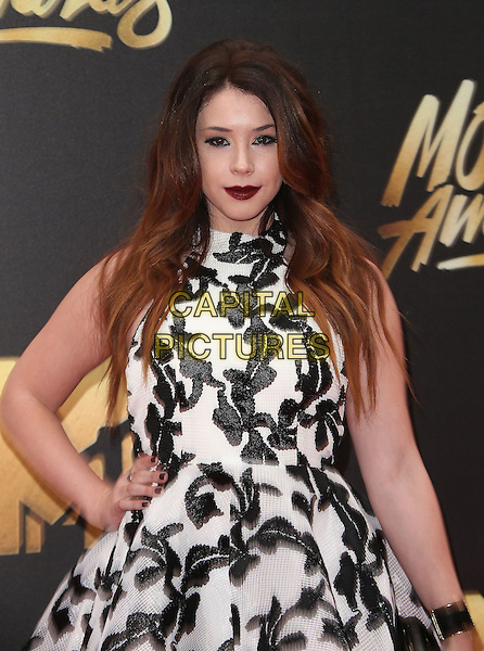 09 April 2016 - Burbank, California - Jillian Rose Reed. 2016 MTV Movie Awards held at Warner Bros. Studios. <br /> CAP/ADM/SAM<br /> &copy;SAM/ADM/Capital Pictures