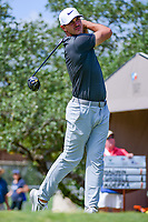 Brooks Koepka (USA) watches his tee shot on 10 during round 2 of the Valero Texas Open, AT&amp;T Oaks Course, TPC San Antonio, San Antonio, Texas, USA. 4/21/2017.<br /> Picture: Golffile | Ken Murray<br /> <br /> <br /> All photo usage must carry mandatory copyright credit (&copy; Golffile | Ken Murray)