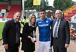 St Johnstone v Motherwell...22.08.15  SPFL   McDiarmid Park, Perth<br /> Man of the match Michael O'Halloran<br /> Picture by Graeme Hart.<br /> Copyright Perthshire Picture Agency<br /> Tel: 01738 623350  Mobile: 07990 594431