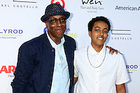 PACIFIC PALISADES, CA - JULY16: Arsenio Hall, Arsenio Hall Jr at the 18th Annual DesignCare Gala on July 16, 2016 in Pacific Palisades, California. Credit: David Edwards/MediaPunch