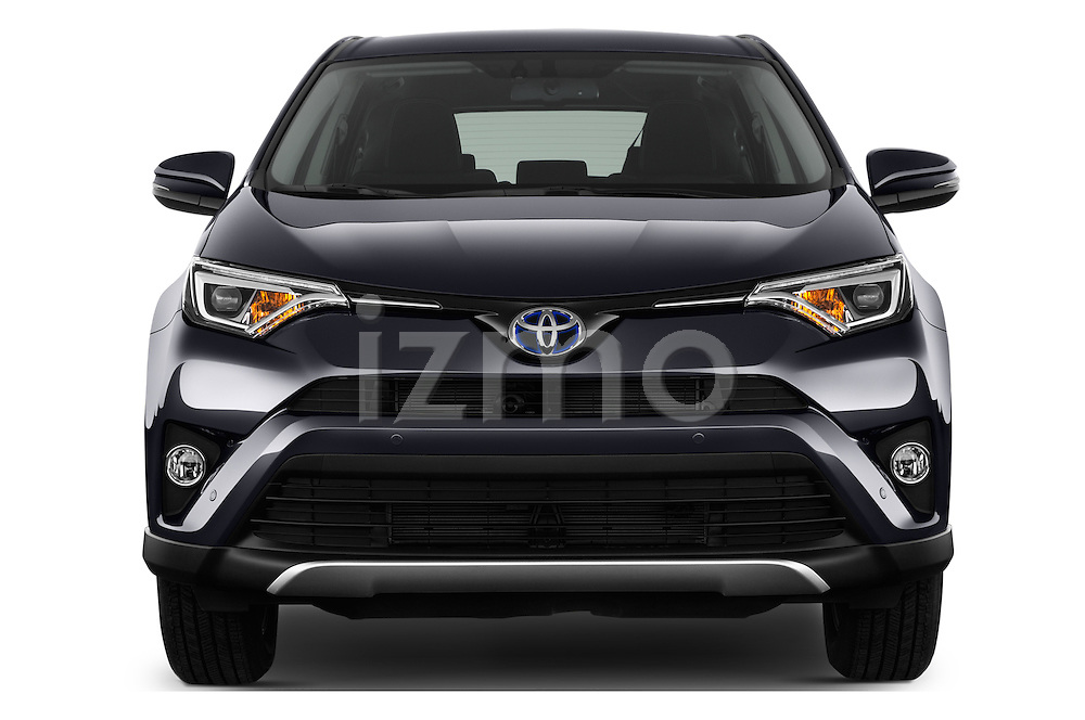 Car photography straight front view of a 2016 Toyota RAV4 Business Edition Plus 5 Door Suv Front View