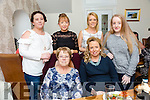 Baby shower for Susan Costello, Ballybunion, celebrating with friends and family at Bella Bia's on Saturday Front l-r Margaret Carey, Susan Costello. Back Linda Carey, Irene Carey, Ellen Carey and Sorcha Carey