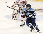 Grace Bizal (BC - 2), Jessica Jacques (Maine - 10) - The Boston College Eagles defeated the visiting University of Maine Black Bears 2-1 on Saturday, October 8, 2016, at Kelley Rink in Conte Forum in Chestnut Hill, Massachusetts.  The University of North Dakota Fighting Hawks celebrate their 2016 D1 national championship win on Saturday, April 9, 2016, at Amalie Arena in Tampa, Florida.