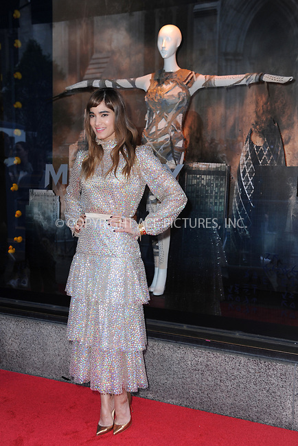 www.acepixs.com<br /> June 7, 2017  New York City<br /> <br /> Sofia Boutella attending Saks Fifth Avenue 'The Mummy' window display unveiling at Saks Fifth Avenue on June 7, 2017 in New York City.<br /> <br /> Credit: Kristin Callahan/ACE Pictures<br /> <br /> Tel: 646 769 0430<br /> Email: info@acepixs.com